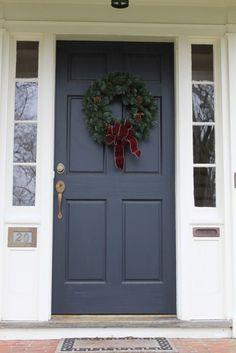 Blue Front Door Ask Anna Decorate Doors Pinterest