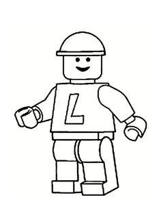 Voici 20 dessins et modèles de Lego à imprimer