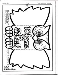 Enjoy this Welcome to Our Class Coloring Sheet. Perfect