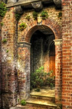1000 Images About Brick Wall Archway On Pinterest Brick