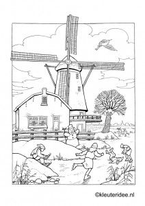 1000+ images about Holland coloring pages on Pinterest