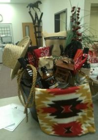 Silent Auction Basket!! This one is a Kindle Fire. We ...
