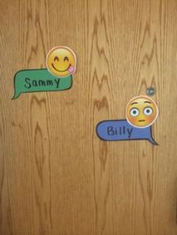 So, door dec idea that I like and did for my residents ...