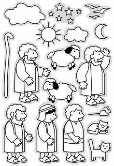 Gathering Sheep Balloon Game for The Good Shepherd Bible