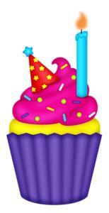 1000 clip art - cupcakes