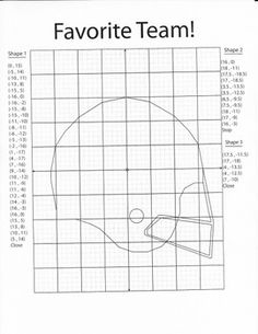 1000+ images about Coordinate Graph Pictures on Pinterest