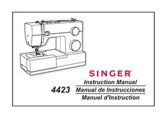 ElnaLock L4 Sewing Machine Instruction Manual. Manual