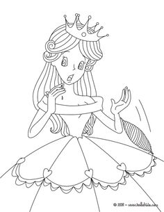 Little Red Riding Hood coloring page: Going to Grandma's