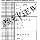 Slope Maze: Determine the Slope Given Two Points Worksheet