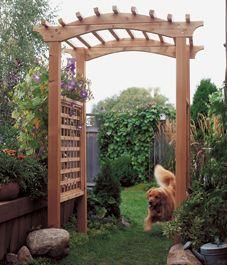 Family Handyman Inspired Garden Arbor Built By Smart Girls DIY