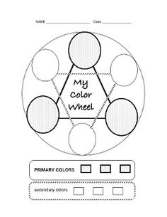 Color wheels, Wheels and Templates on Pinterest