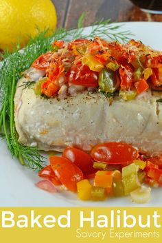 Baked Halibut is an
