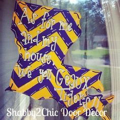A Board Painting For Louisianians And Fans Of The LSU Tigers And