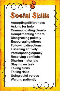 Strong Social Skills