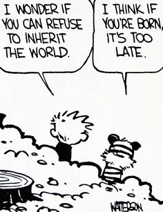 Best Excuse to not write my essays- calvin and hobbes