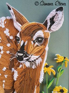 1000 Images About Quilling Animals On Pinterest