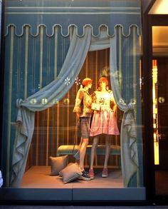 Bonwit Teller Store Window New York N Y Featuring Oklahoma