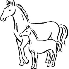 1000+ images about Horse Coloring Pages on Pinterest