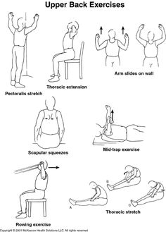 Thoracic Back Pain Exercises Exercisesfor your thoracic