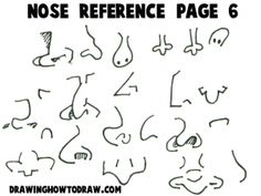 Step noses reference 1 300x225 Cartoon Noses Reference