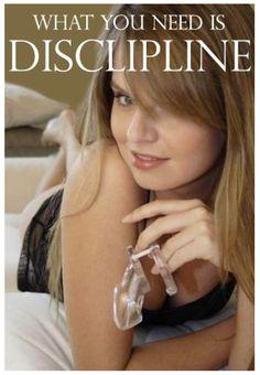 femdom chastity art