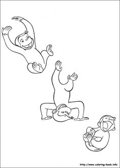 Curious George Printables: Flip Book . Birthday Party