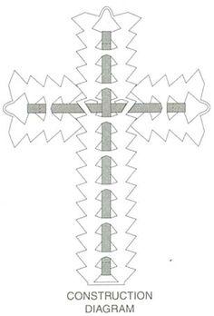 Crochet cross, Crosses and Bookmarks on Pinterest