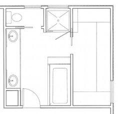 5x10 Bathroom Floor Plan  Addition  Pinterest  Bathroom Bathroom ideas and Bath