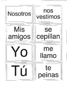 1000+ images about Verbos Reflexivos y de Cambio on