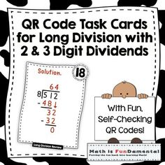 Task cards, Multiplication and Multiplication and division