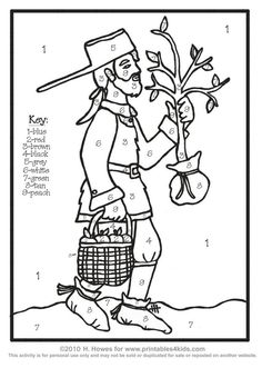 1000+ images about Johnny Appleseed (September 26) on