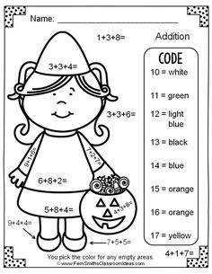 This FREEBIE contains a color by number worksheet that