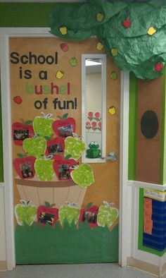 1000+ images about Door and Notice Board Displays on