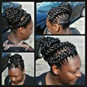 3d goddess braids with weave