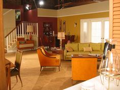 bewitched tv set - Google Search   Bewitched   Pinterest   House interiors. Studios and TVs