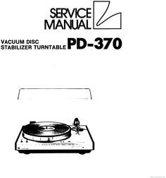 1000+ images about Turntables Service Manuals on Pinterest