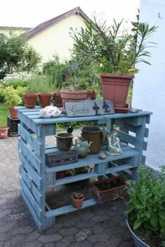 30 Genius Ways To Use Pallets In Your Garden Gardens DIY And