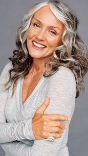 modern gray hairstyles