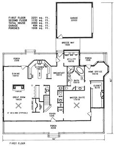 Multi-Family House Plan First Floor 055D-0358 from