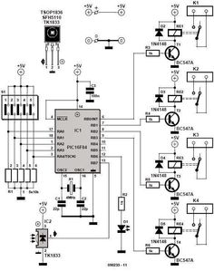 #Circuit Diagram For A Keypad-Operated Door-Release Switch