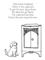 1000+ images about Prek/K- old mother hubbard on Pinterest