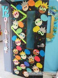 Mad scientist ~ School decoration for Science Lab Door ...