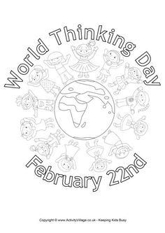 1000+ images about Thinking Day Printables on Pinterest