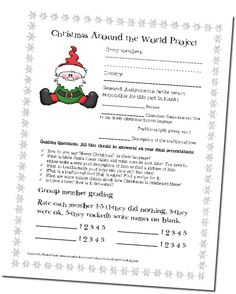1000+ images about 3rd grade Christmas around the world