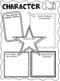 1000+ ideas about Character Traits Graphic Organizer on