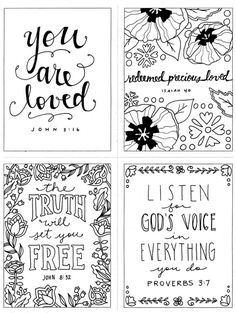 Coloring Page Printable Bible Verse Proverbs 3:5 Trust in
