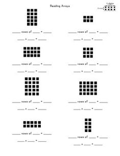 FREE Multiplication Facts Worksheets! Great for review