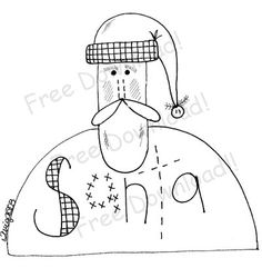Robin pattern. Use the printable outline for crafts