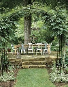 Raised Patio on Pinterest  Stone Patios Brick Patios and