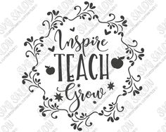 The Best Teachers SVG, DXF, EPS, png Files for Cutting